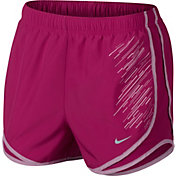 Nike Women's Dry Textured Novelty Printed Tempo Shorts
