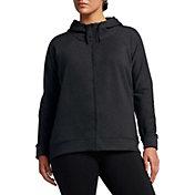 Nike Women's Plus Size Dry Versa Jacket