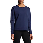 Nike Women's Dry Versa Long Sleeve Cover Up Shirt
