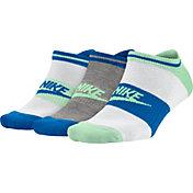 Nike Women's Sportswear No Show Socks 3 Pack
