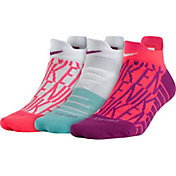 Nike Women's Dry Cushion Low GFX Training Socks 3 Pack