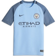 Nike Youth Manchester City 16/17 Replica Home Jersey
