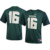 Nike Youth Baylor Bears #16 Green Game Football Jersey