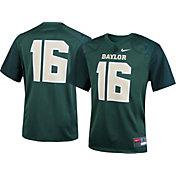 Nike Youth Baylor Bears #16 Green Game Football Jersey