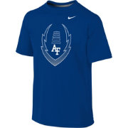 Nike Youth Air Force Falcons Blue Football Icon Legend T-Shirt