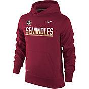 Nike Youth Florida State Seminoles Garnet Therma-FIT Hoodie