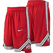 Nike Youth Ohio State Buckeyes Scarlet Replica Basketball Shorts