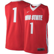 Nike Youth Ohio State Buckeyes #1 Scarlet ELITE Replica Basketball Jersey