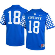 Nike Youth Kentucky Wildcats #18 Blue Game Football Jersey