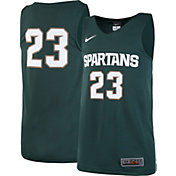 Nike Youth Michigan State Spartans #23 Green Replica ELITE Basketball Jersey