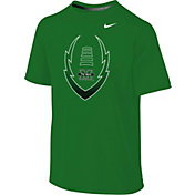 Nike Youth Marshall Thundering Herd Green Football Icon Legend T-Shirt