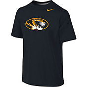 Nike Youth Missouri Tigers Sideline Black Logo Legend T-Shirt