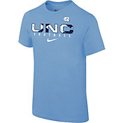 Nike Youth North Carolina Tar Heels Carolina Blue Core Facility Football Sideline T-Shirt