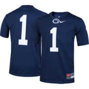 Nike Youth Penn State Nittany Lions #1 Blue Game Football Jersey