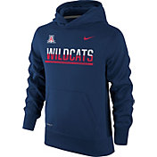 Nike Youth Arizona Wildcats Navy Therma-FIT Hoodie
