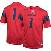 Nike Youth Arizona Wildcats #1 Cardinal Game Football Jersey