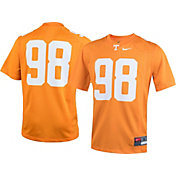 Nike Youth Tennessee Volunteers #98 Tennessee Orange Game Football Jersey