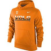 Nike Youth Tennessee Volunteers Tennessee Orange Therma-FIT Hoodie