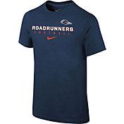Nike Youth UT San Antonio Roadrunners Blue Core Facility Football Sideline T-Shirt
