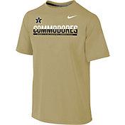 Nike Youth Vanderbilt Commodores Gold Legend Staff Sideline T-Shirt
