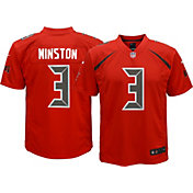 Nike Youth Color Rush 2016 Game Jersey Tampa Bay Buccaneers Jameis Winston #3