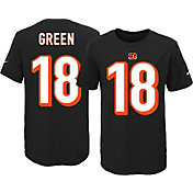 Nike Youth Cincinnati Bengals A.J. Green #18 Black T-Shirt