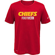 Nike Youth Kansas City Chiefs Sideline 2016 All Football Legend Red Performance T-Shirt