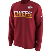 Nike Youth Kansas City Chiefs Team Practice Red Long Sleeve Shirt