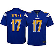 Nike Youth Color Rush Game Jersey San Diego Chargers Philip Rivers #17