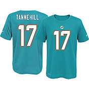 Nike Youth Miami Dolphins Ryan Tannehill #17 Aqua T-Shirt