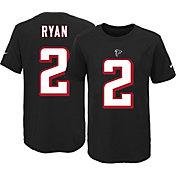 Nike Youth Atlanta Falcons Matt Ryan #2 Black T-Shirt