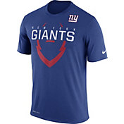 Nike Youth New York Giants Legend Icon Blue Performance T-Shirt