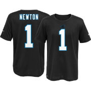 Nike Youth Carolina Panthers Cam Newton #1 Black T-Shirt