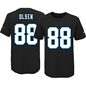 Nike Youth Carolina Panthers Greg Olsen #88 Black T-Shirt