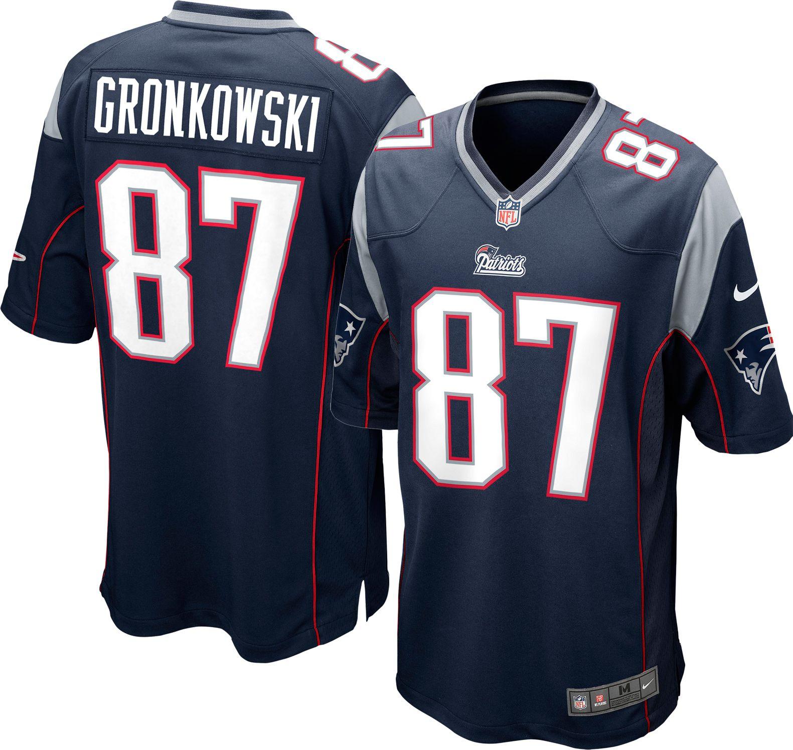 patriots 87 jersey