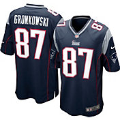 Nike Youth Home Game Jersey New England Patriots Rob Gronkowski #87