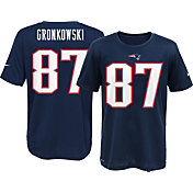 Nike Youth New England Patriots Rob Gronkowski #87 Navy T-Shirt