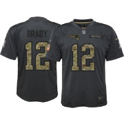 Nike Youth Home Game Jersey New England Patriots Tom Brady #12 Salute to Service 2016