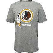 Nike Youth Washington Redskins Facility Grey T-Shirt