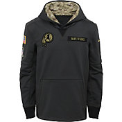 Nike Youth Washington Redskins Salute to Service 2016 Anthracite Pullover Hoodie