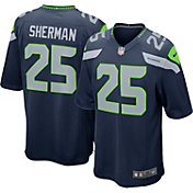 Nike Youth Home Game Jersey Seattle Seahawks Richard Sherman #25