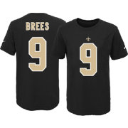 Nike Youth New Orleans Saints Drew Brees #9 Black T-Shirt