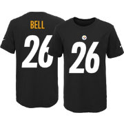 Nike Youth Pittsburgh Steelers Le'Veon Bell #26 Black T-Shirt