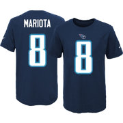 Nike Youth Tennessee Titans Marcus Mariota #8 Navy T-Shirt