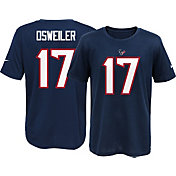 Nike Youth Houston Texans Brock Osweiler #17 Navy T-Shirt