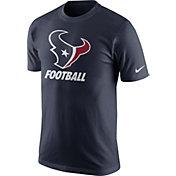 Nike Youth Houston Texans Facility Navy T-Shirt