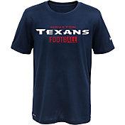 Nike Youth Houston Texans Sideline 2016 All Football Legend Navy Performance T-Shirt