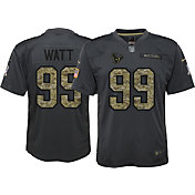 Nike Youth Home Game Jersey Houston Texans J.J. Watt #99 Salute to Service 2016
