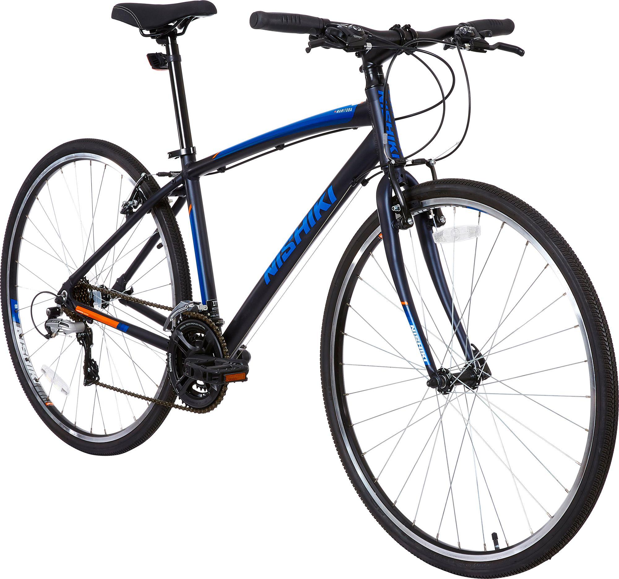 Nishiki Adult Manitoba Hybrid Bike Dick S Sporting Goods
