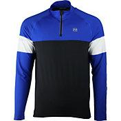 Nishiki Men's Quarter Zip Long Sleeve Cycling Jersey